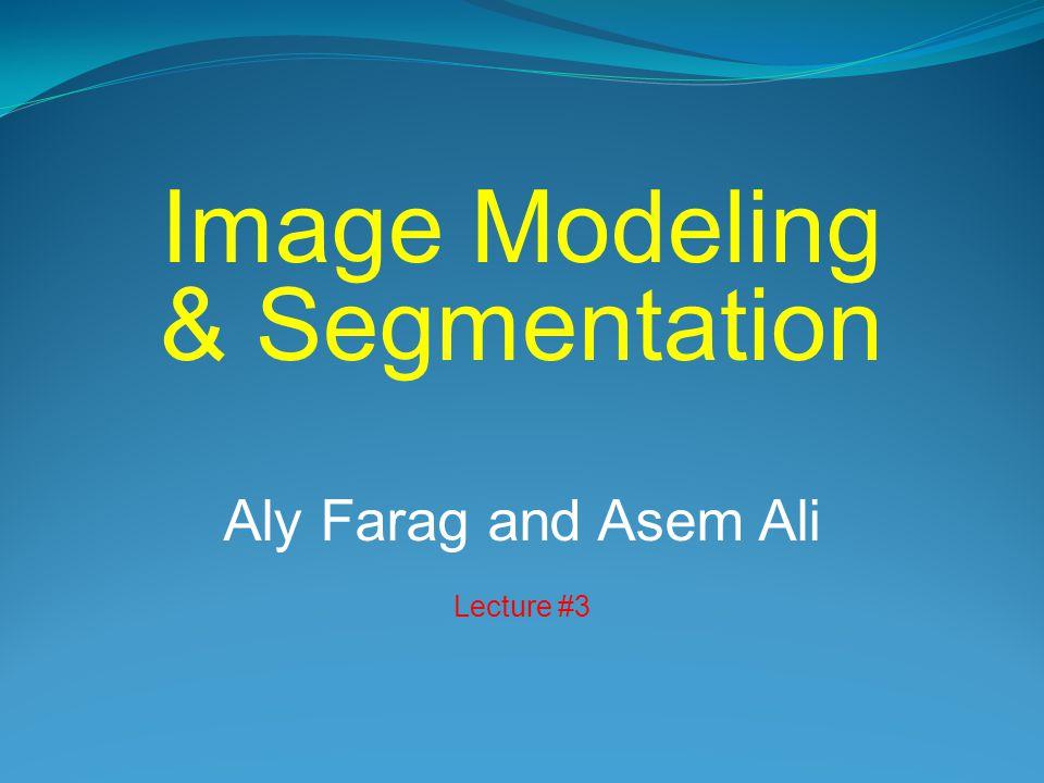 Image Modeling & Segmentation