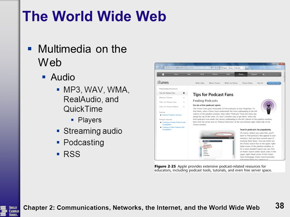 The World Wide Web Multimedia on the Web Audio