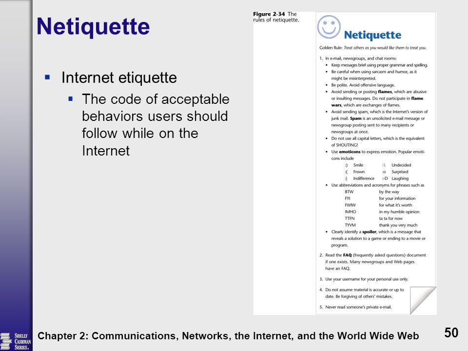 Netiquette Internet etiquette