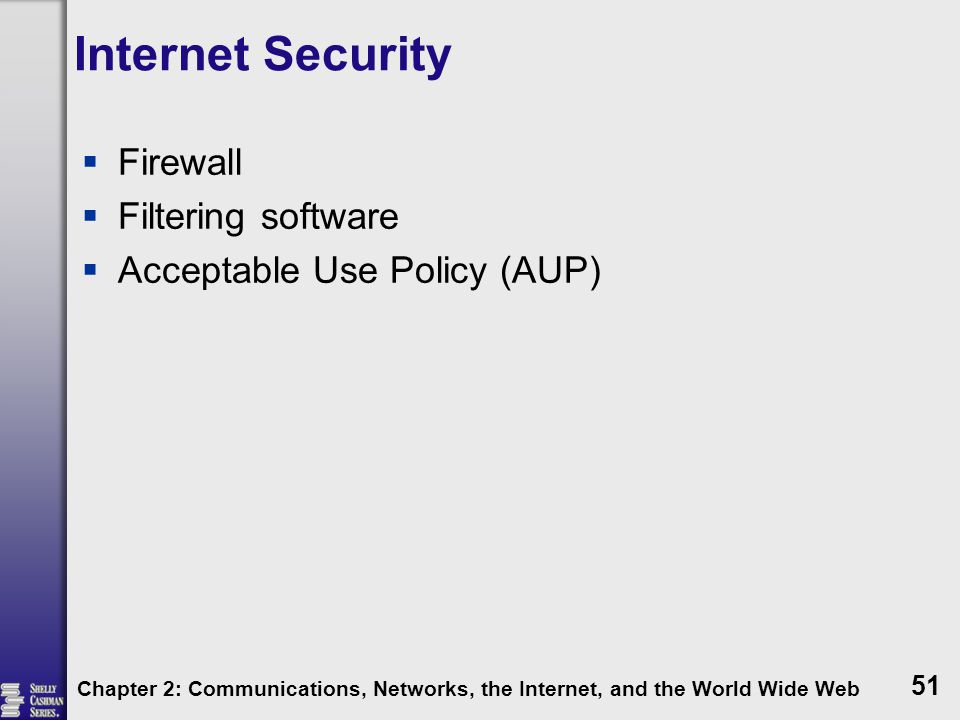 Internet Security Firewall Filtering software