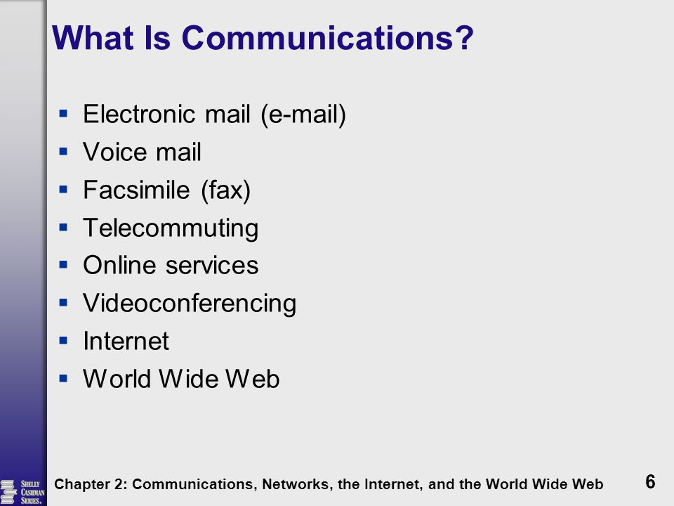 What Is Communications