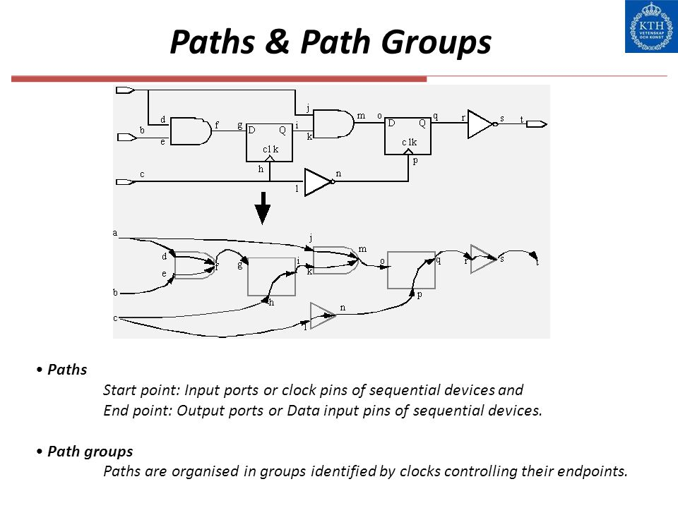 Paths & Path Groups Paths