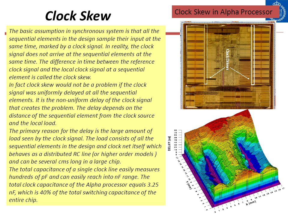 Clock Skew Clock Skew in Alpha Processor