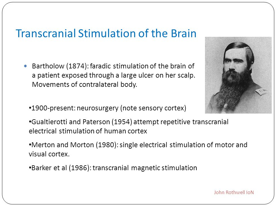 Transcranial Stimulation of the Brain