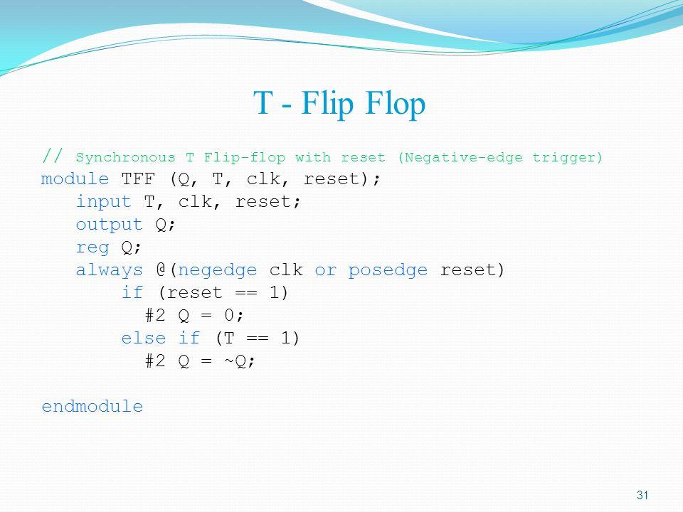 T - Flip Flop