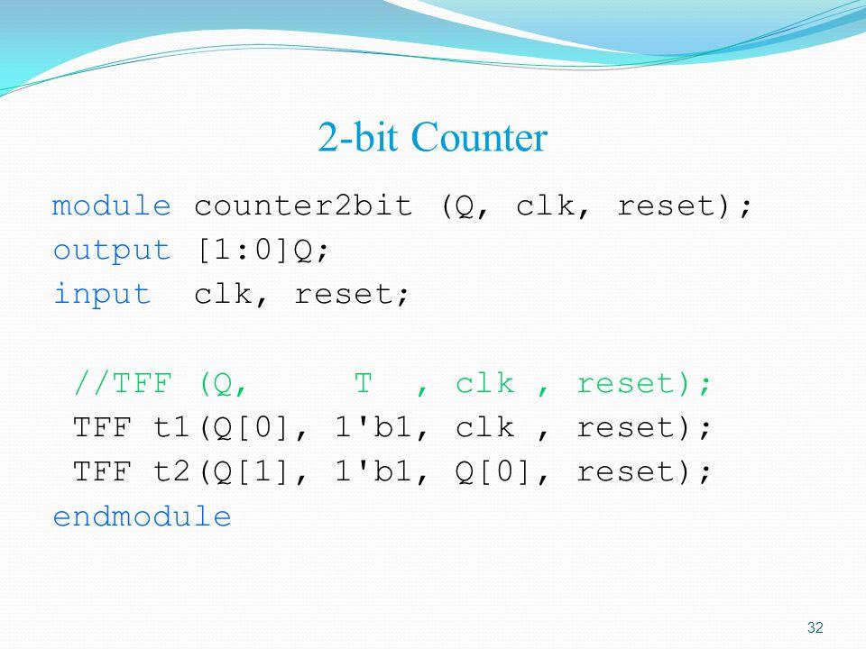 2-bit Counter