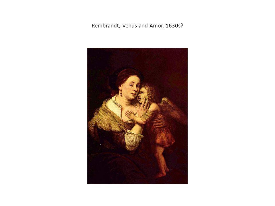 Rembrandt, Venus and Amor, 1630s