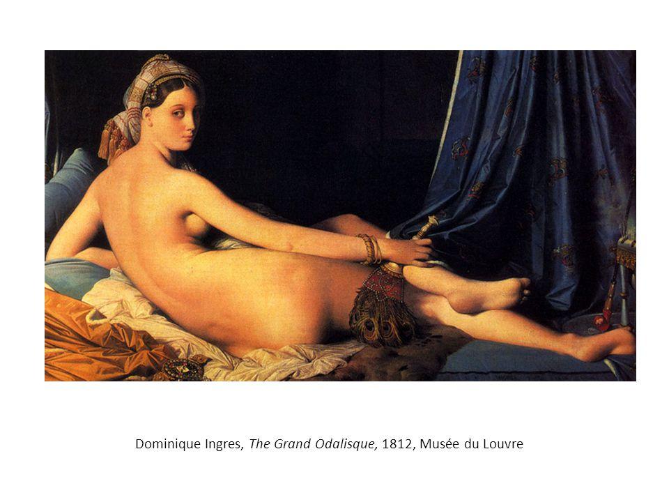 Dominique Ingres, The Grand Odalisque, 1812, Musée du Louvre