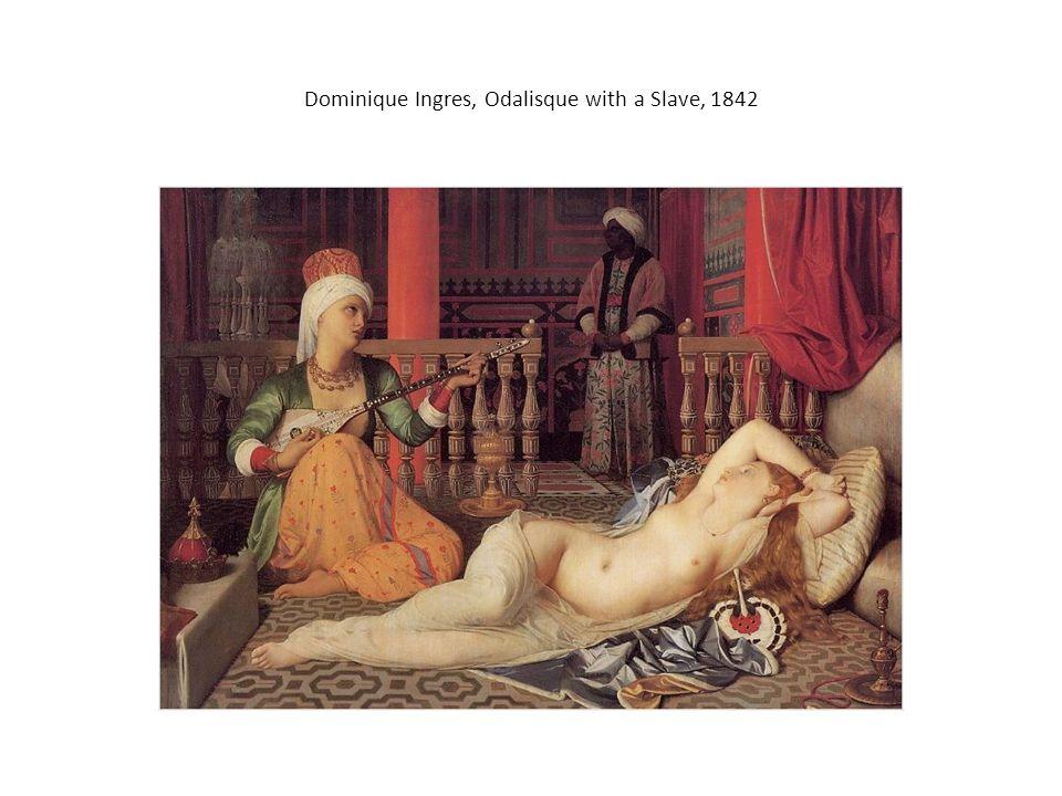 Dominique Ingres, Odalisque with a Slave, 1842