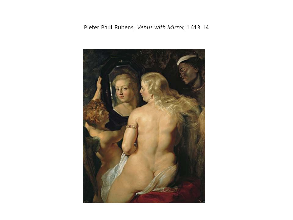 Pieter-Paul Rubens, Venus with Mirror, 1613-14