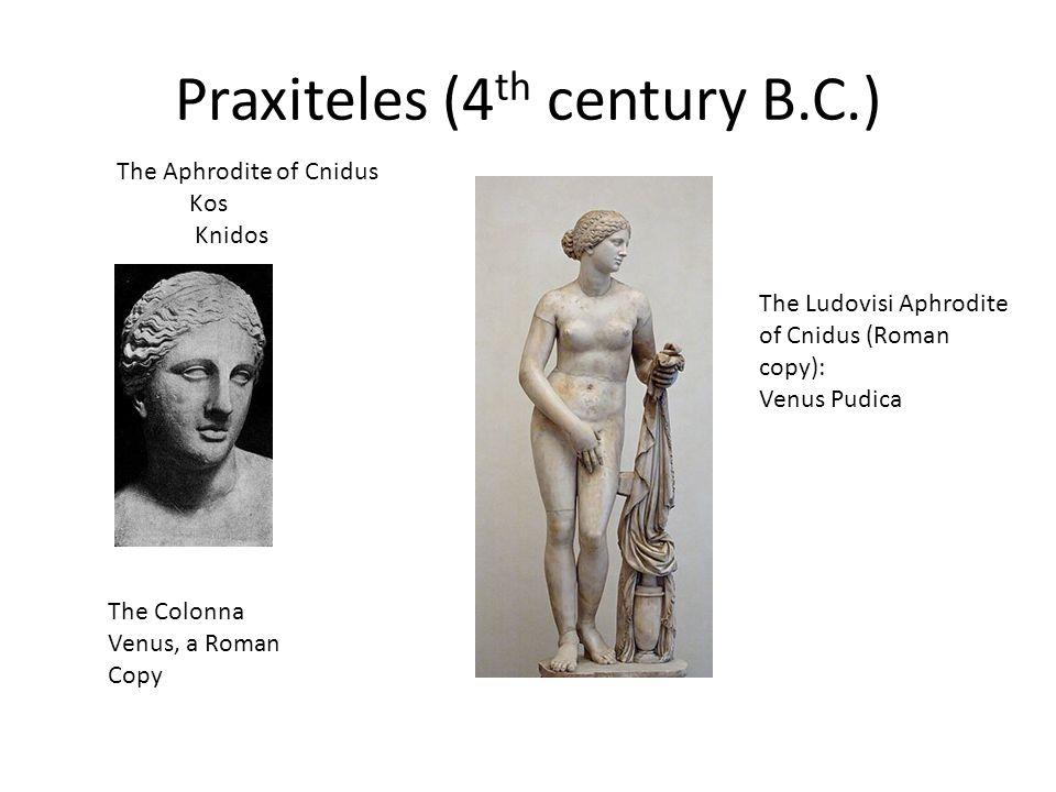 Praxiteles (4th century B.C.)