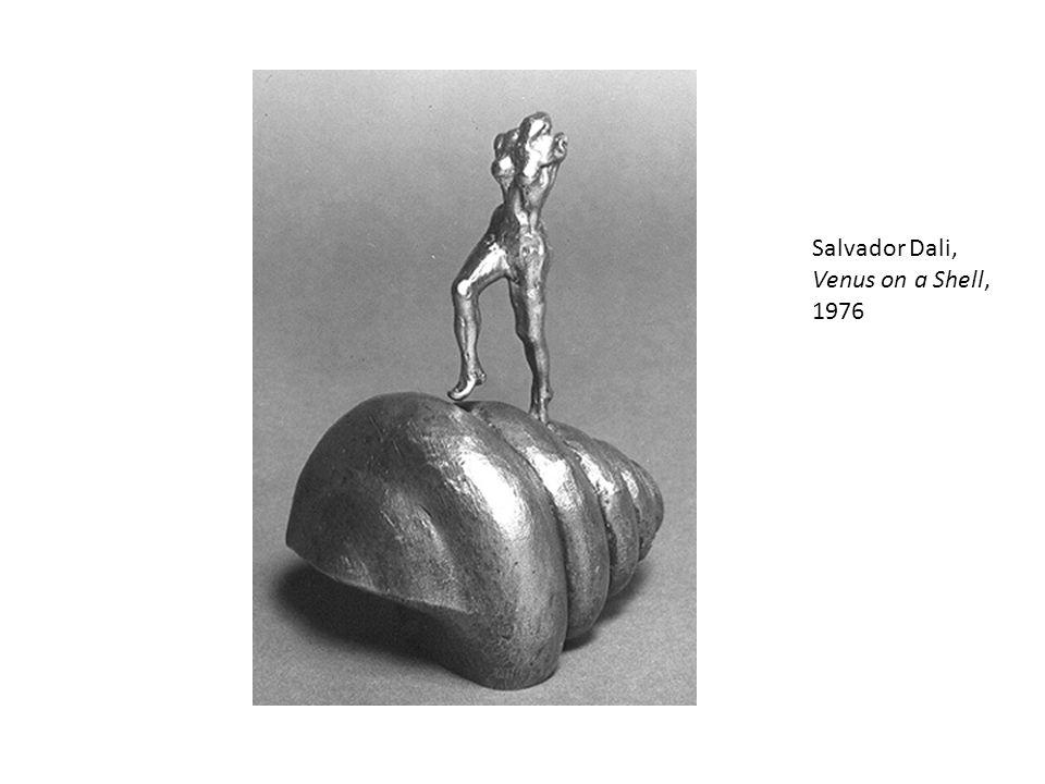 Salvador Dali, Venus on a Shell, 1976