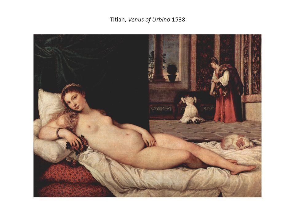 Titian, Venus of Urbino 1538 /ˈtɪʃən/