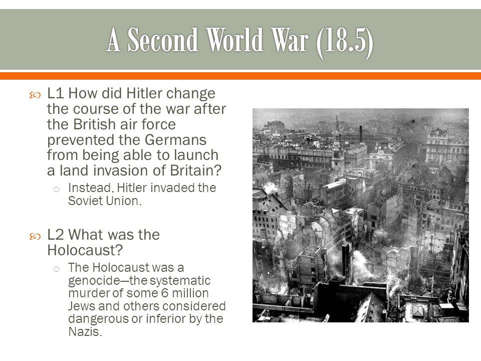A Second World War (18.5)