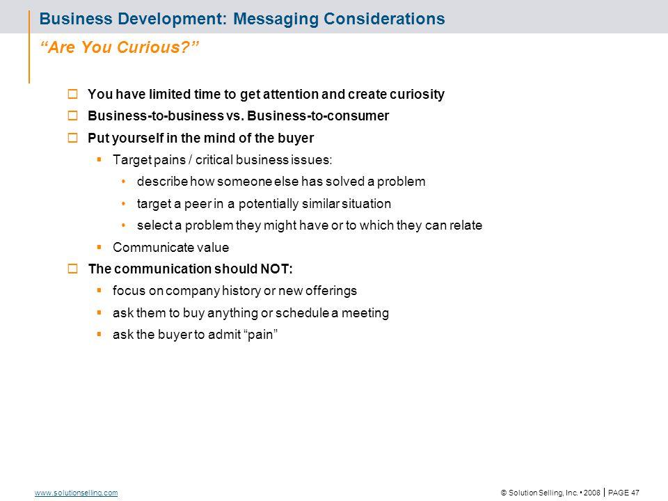 Sales Tool Description Business Development Prompters