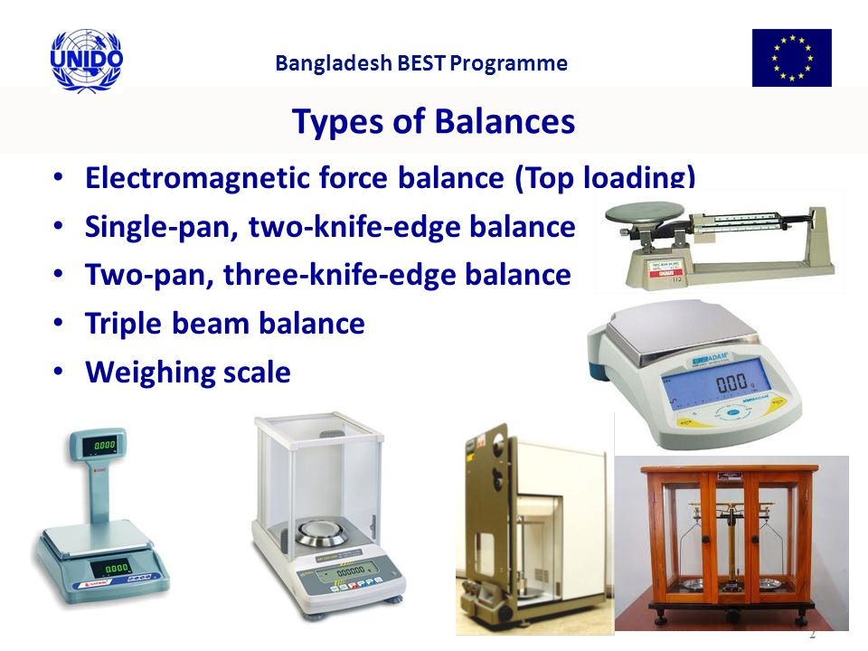 Types of Balances Electromagnetic force balance (Top loading)