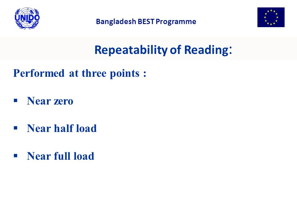 Repeatability of Reading: