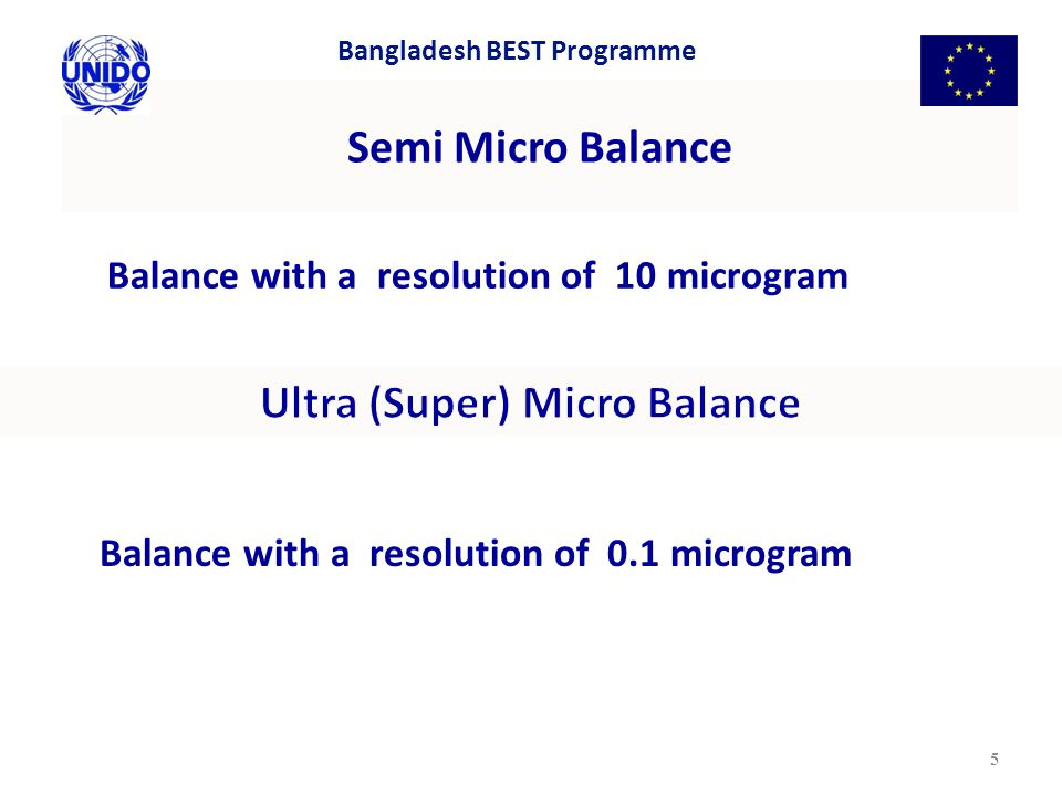 Ultra (Super) Micro Balance