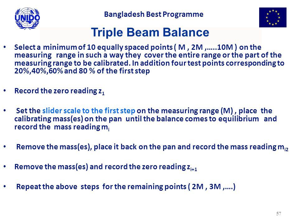Triple Beam Balance Bangladesh Best Programme