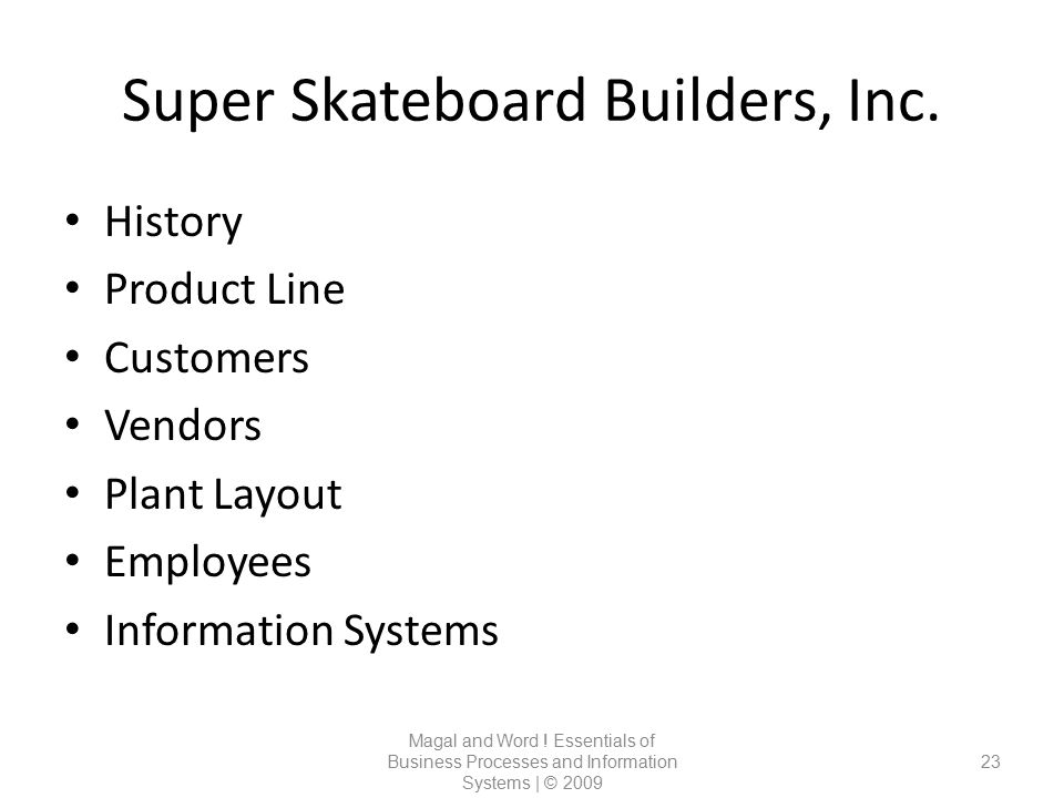 Super Skateboard Builders, Inc.