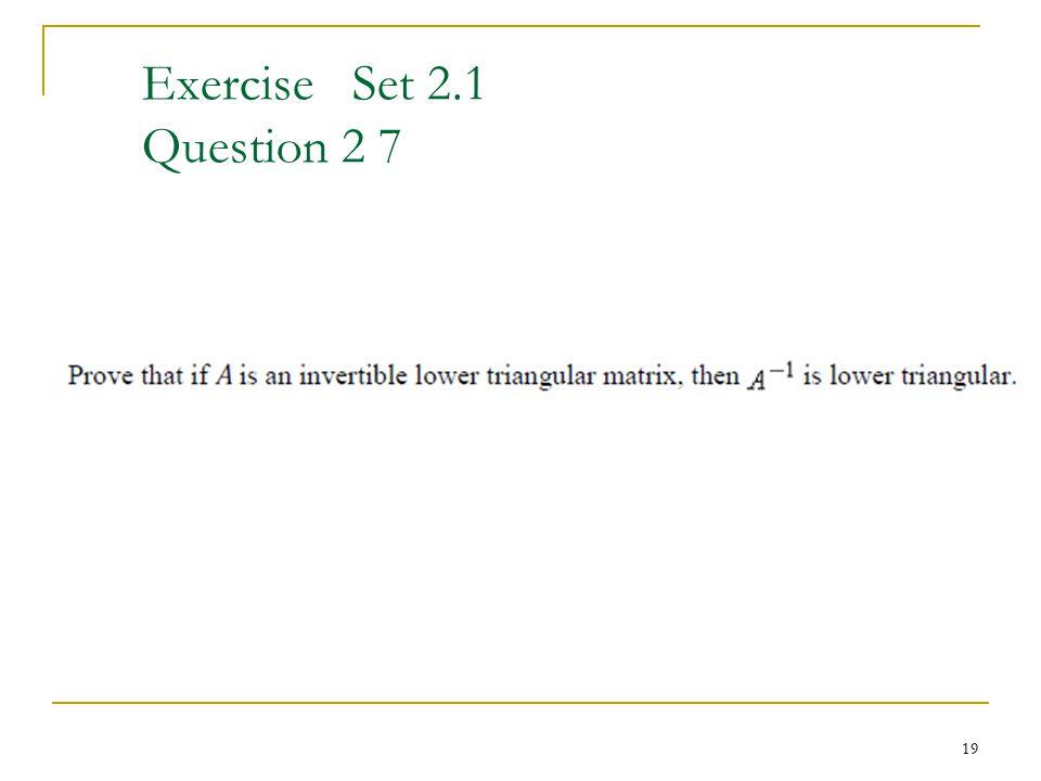 Exercise Set 2.1 Question 2 7