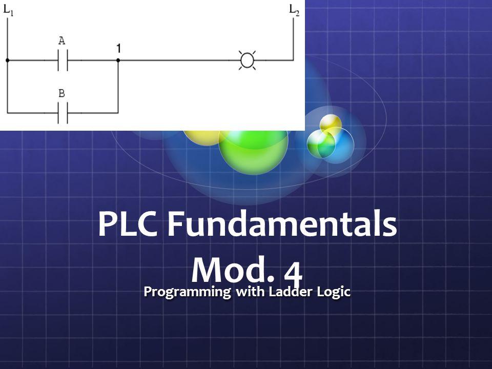 Programming with Ladder Logic