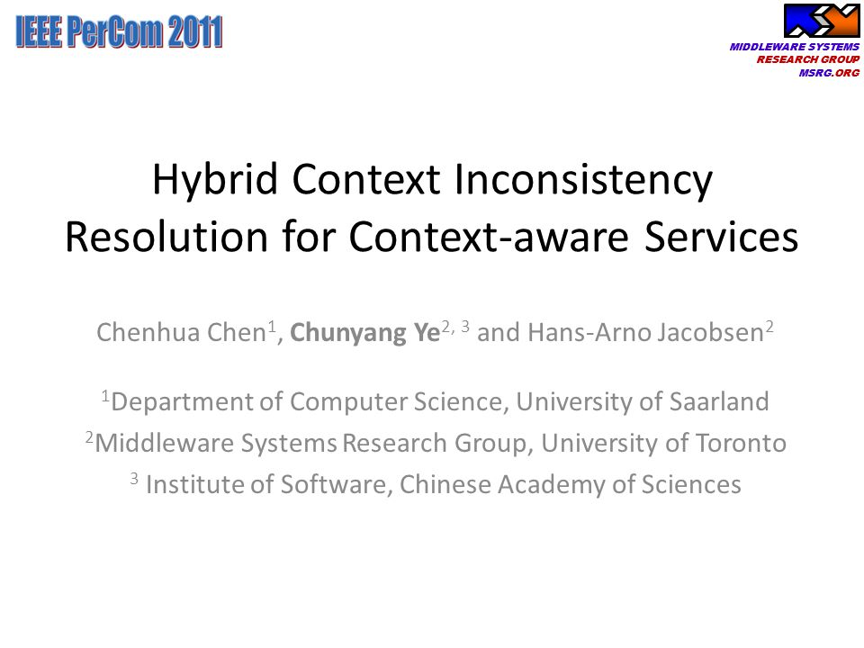 Hybrid Context Inconsistency Resolution for Context-aware Services