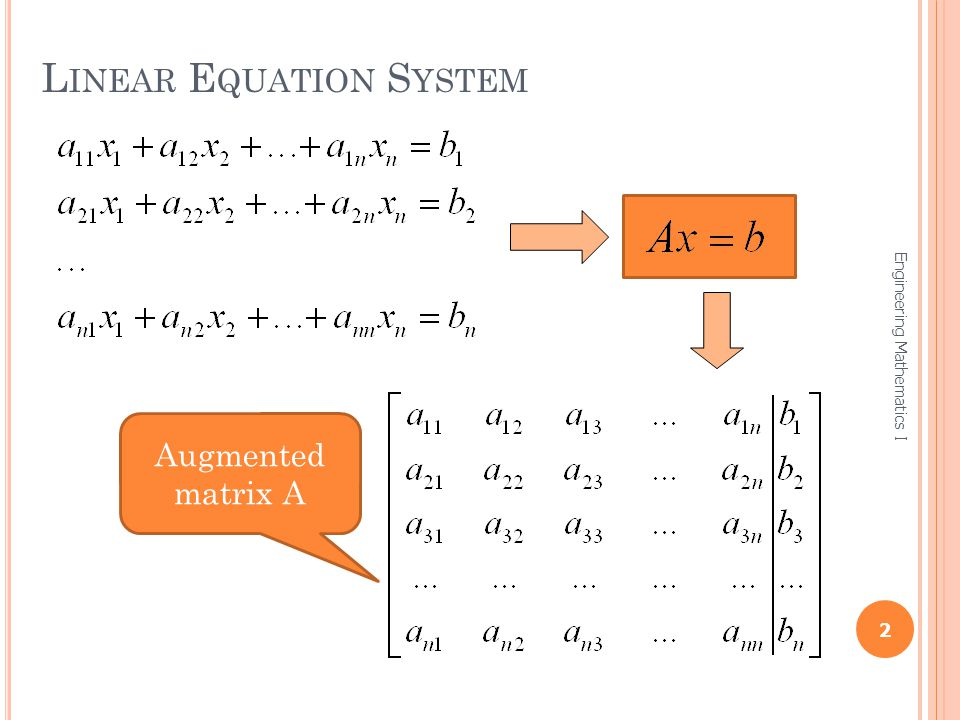 Linear Equation System