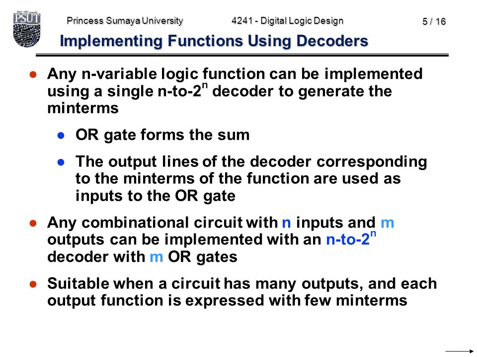 Implementing Functions Using Decoders