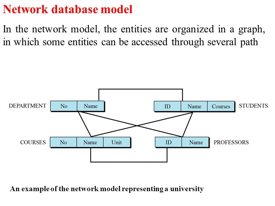 Network database model
