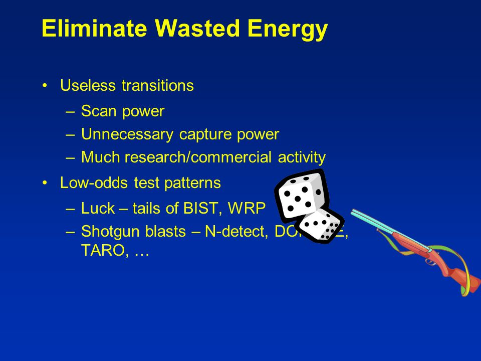 Eliminate Wasted Energy