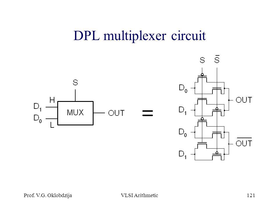 DPL multiplexer circuit