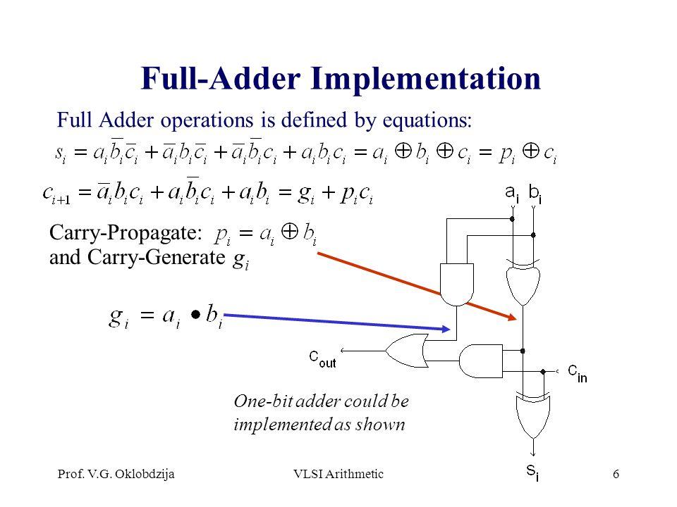 Full-Adder Implementation