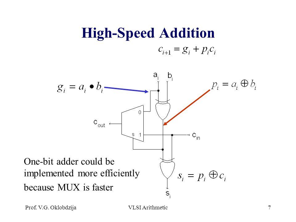 High-Speed Addition