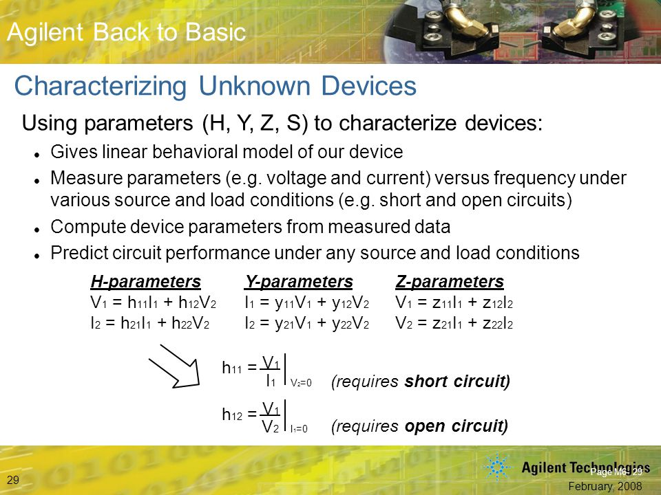 Characterizing Unknown Devices
