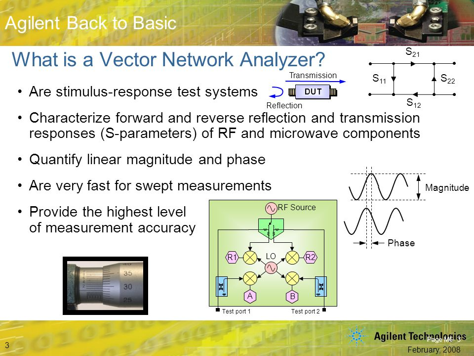 What is a Vector Network Analyzer