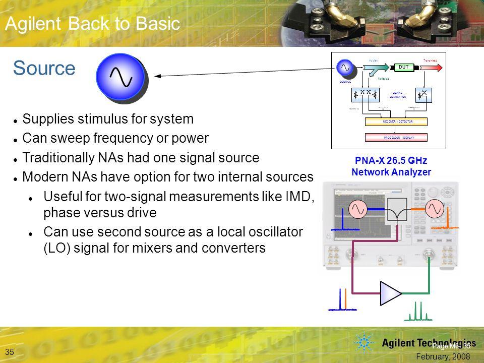 PNA-X 26.5 GHz Network Analyzer