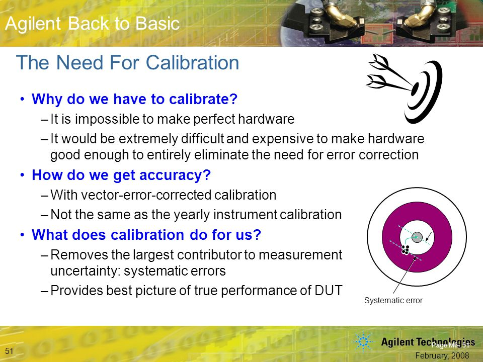 The Need For Calibration
