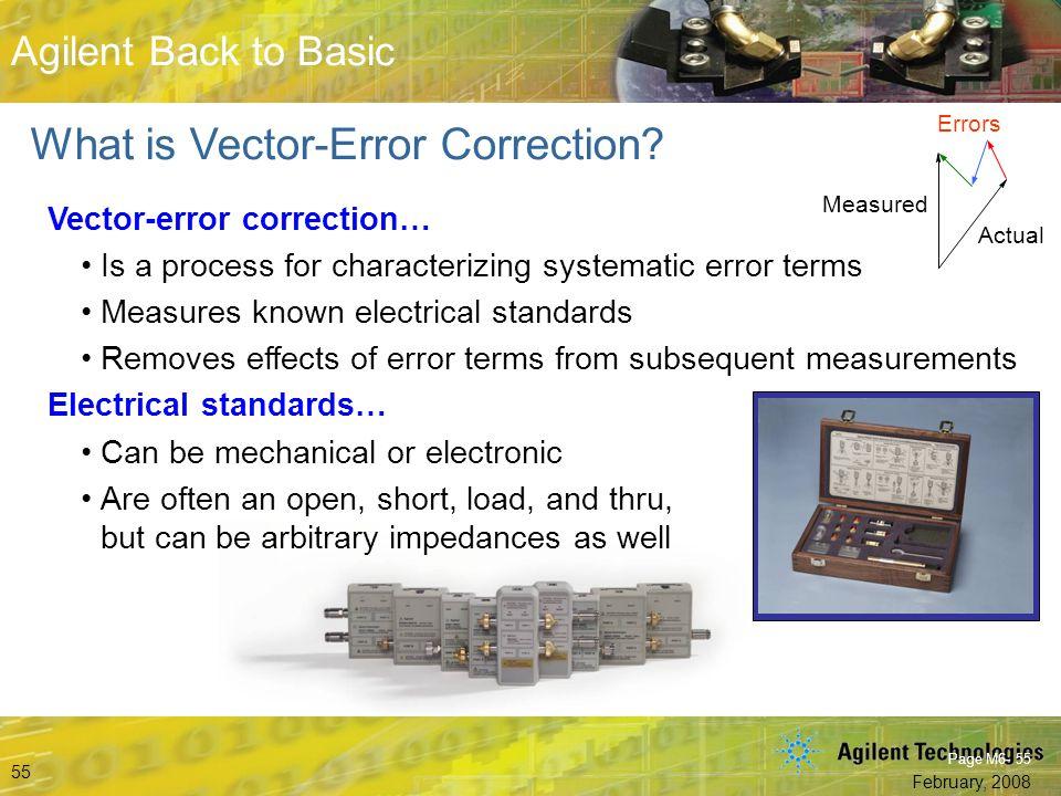 What is Vector-Error Correction