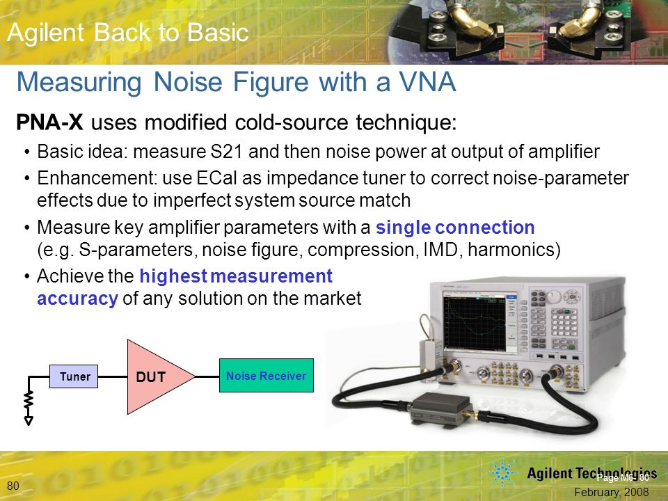 Measuring Noise Figure with a VNA