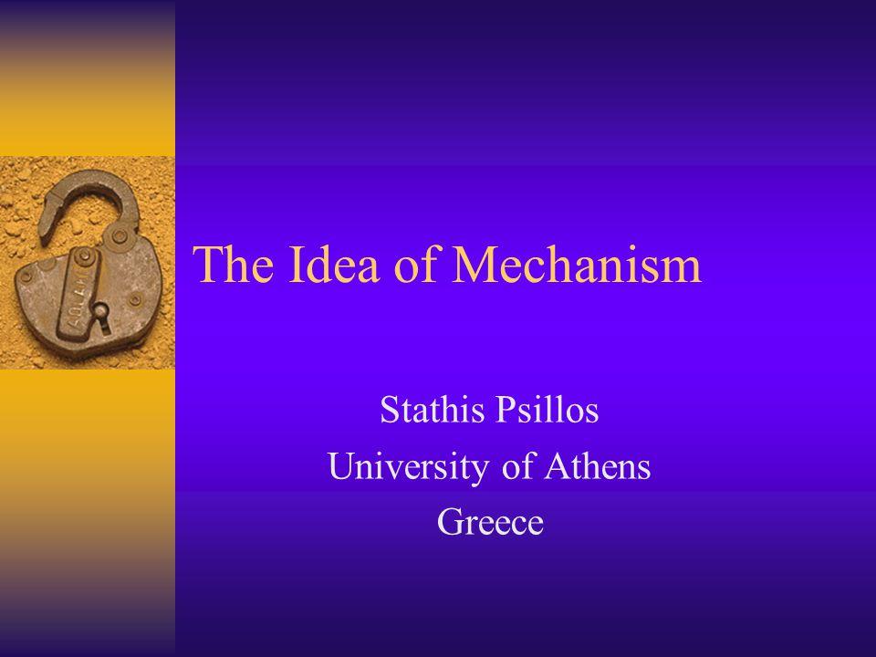 Stathis Psillos University of Athens Greece