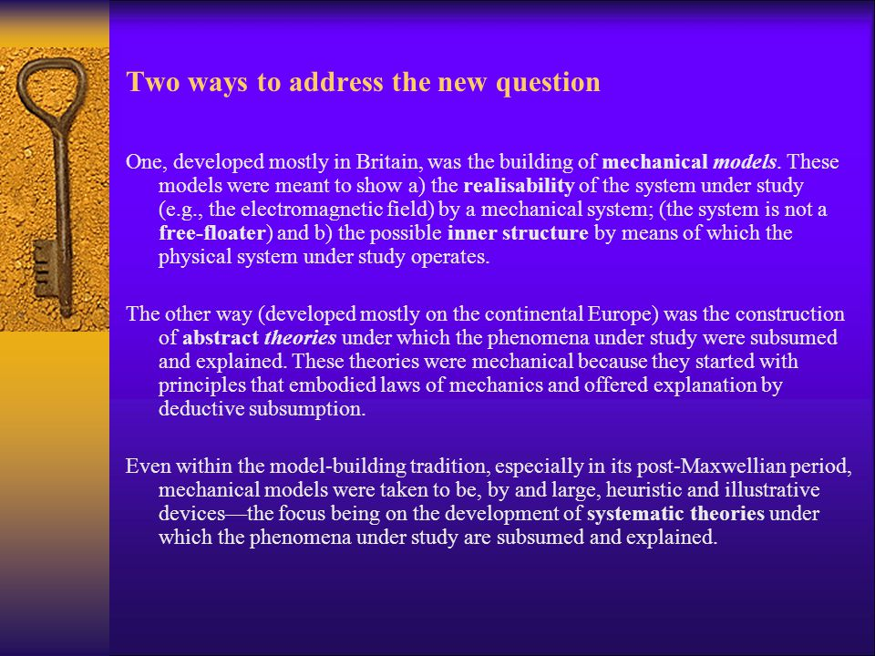 Two ways to address the new question