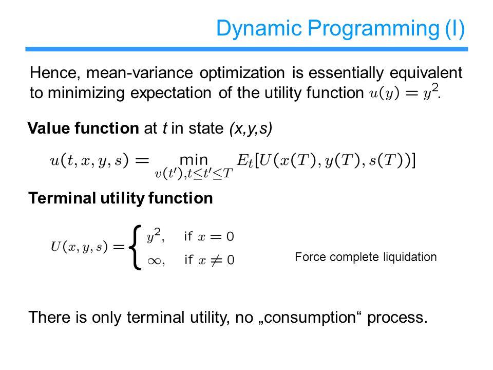 Dynamic Programming (I)