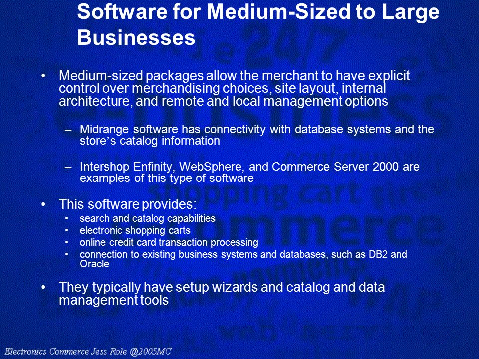 Software for Medium-Sized to Large Businesses