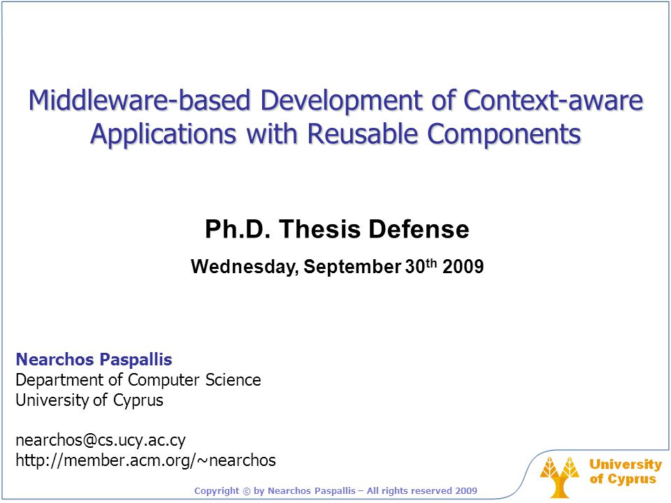 Middleware-based development of context-aware applications with reusable components