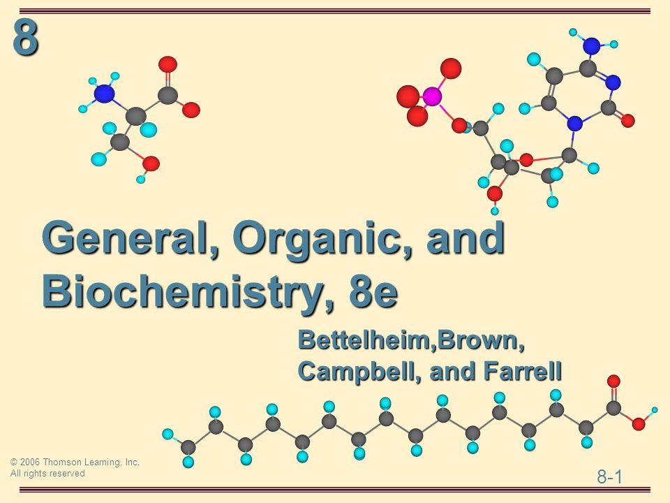 General, Organic, and Biochemistry, 8e