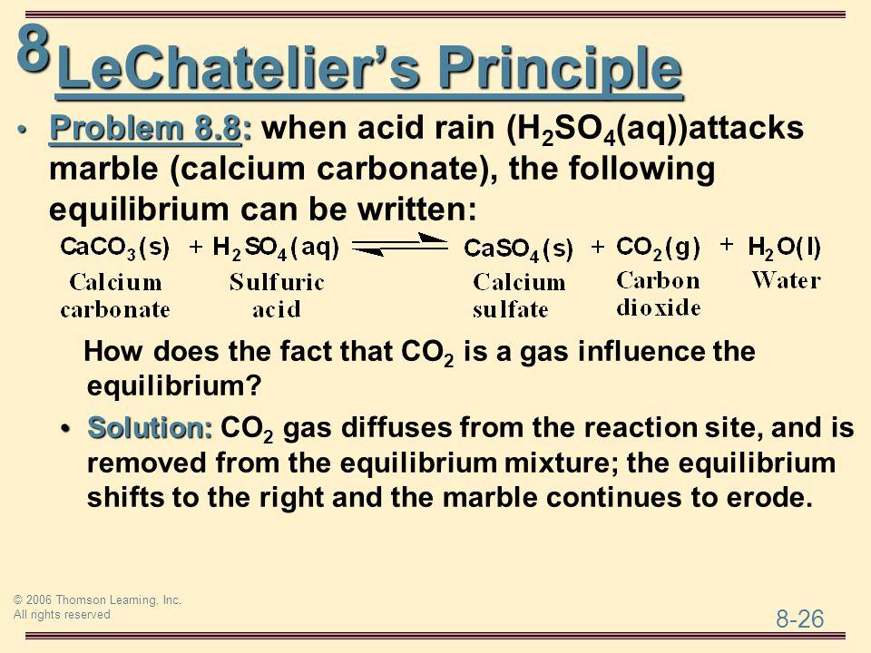 LeChatelier's Principle