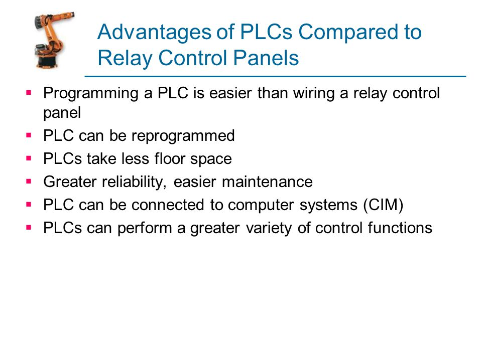 Advantages of PLCs Compared to Relay Control Panels
