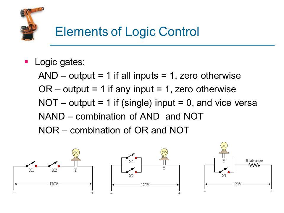 Elements of Logic Control