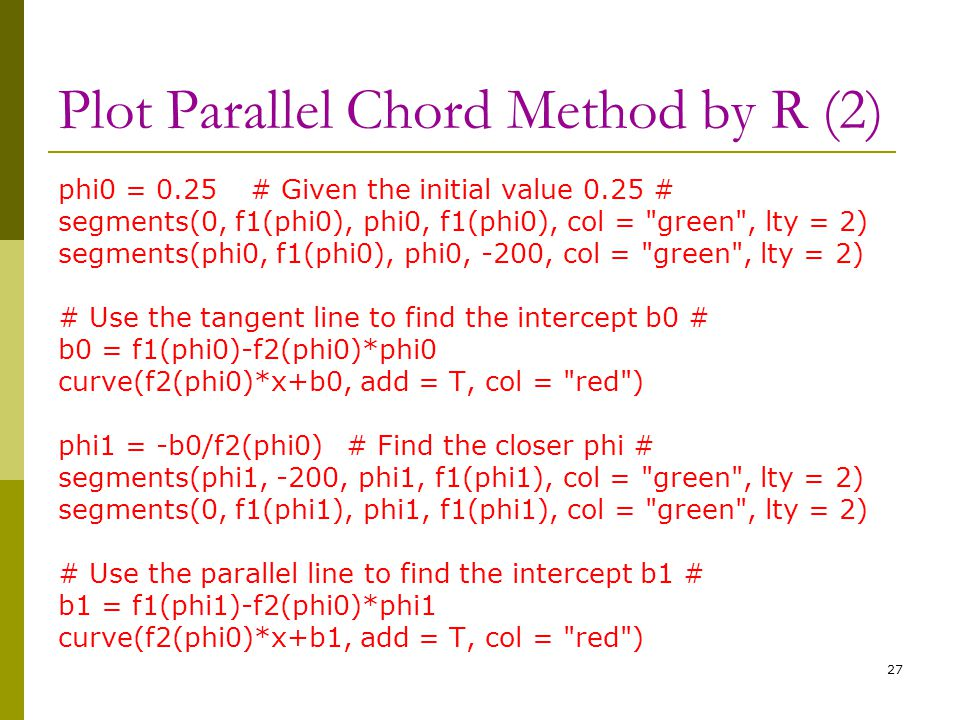 Plot Parallel Chord Method by R (2)
